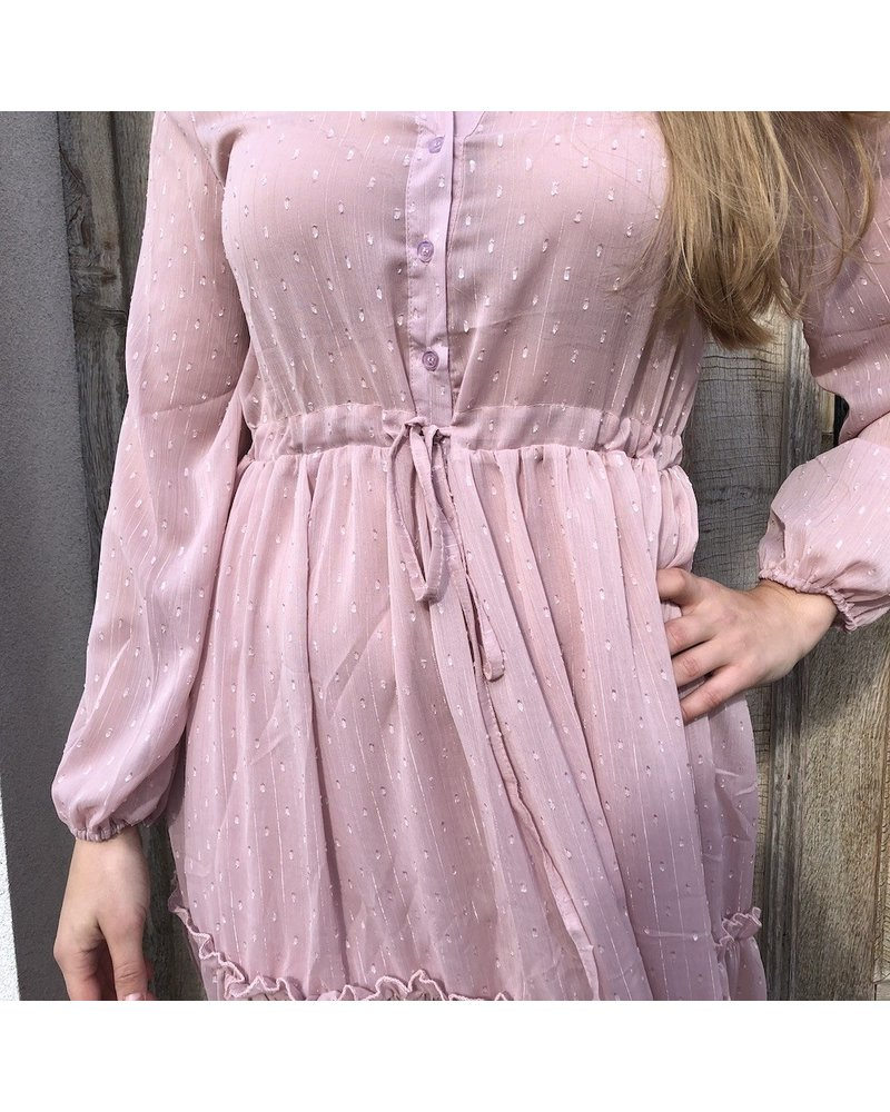 Maxidress pink