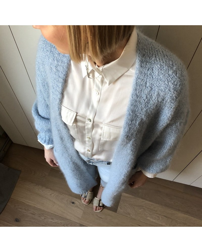 maxi bernadette lichtblauw
