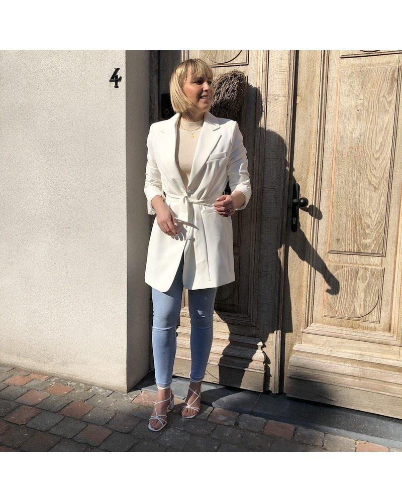 Blazer dress white