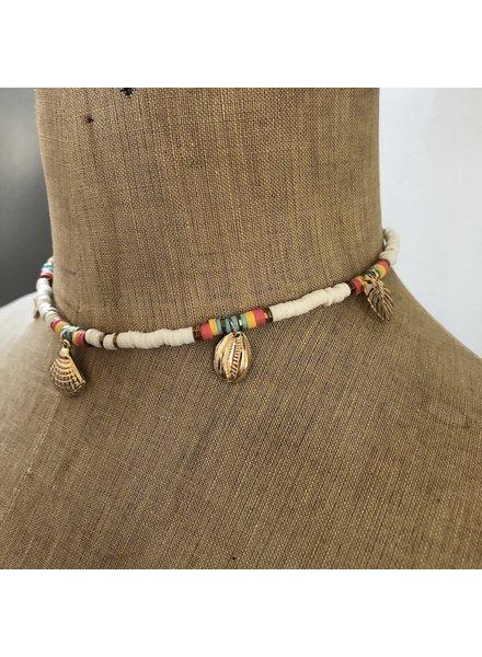 Summer necklace pastel