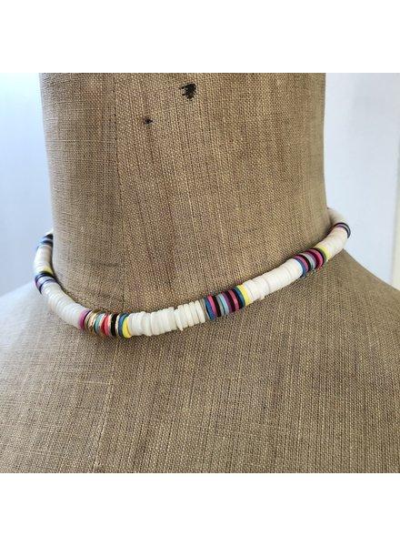 Summer necklace multicolor