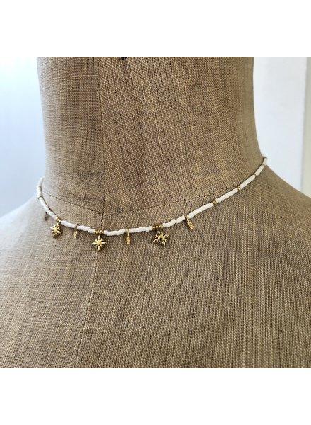 Cream necklace 4