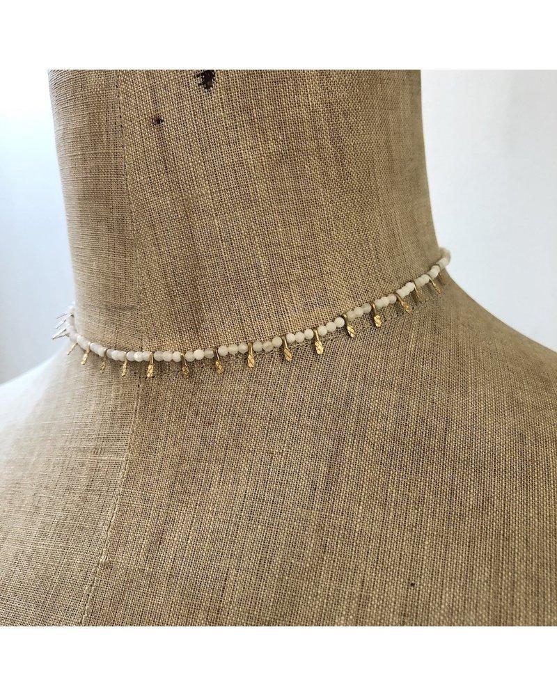 Cream necklace 5