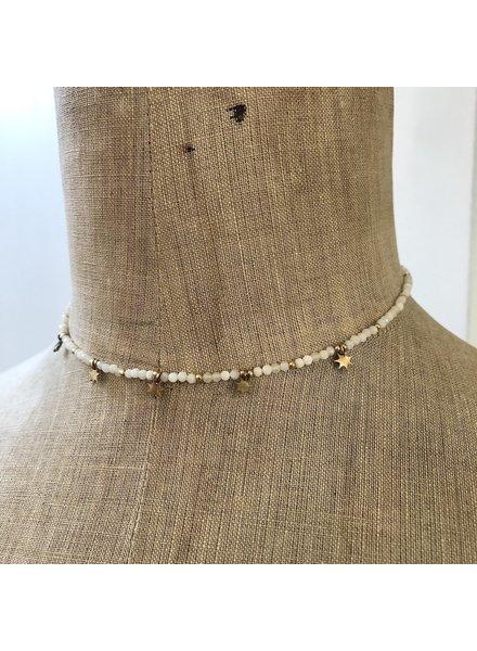 Cream necklace 6