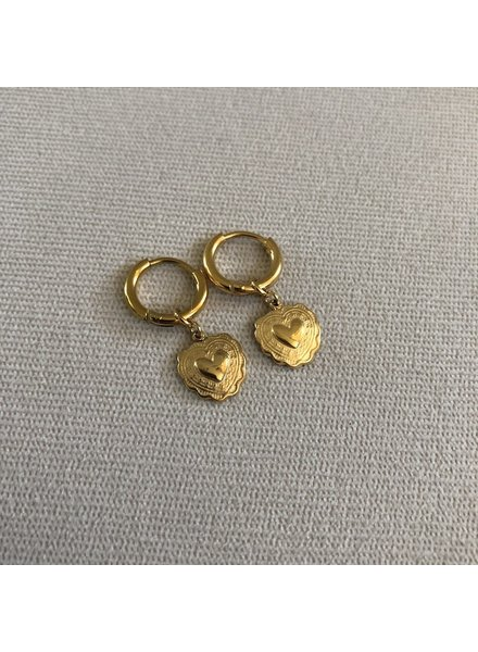 Earrings gold 1