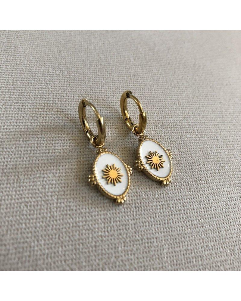 Earrings gold 2