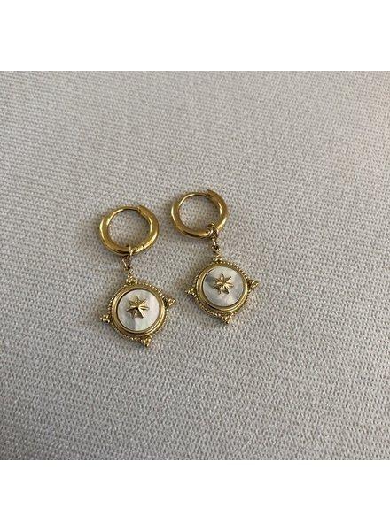 Earrings gold 3