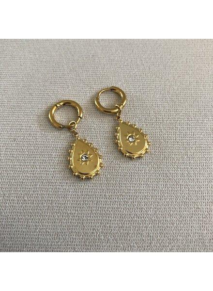 Earrings gold 7