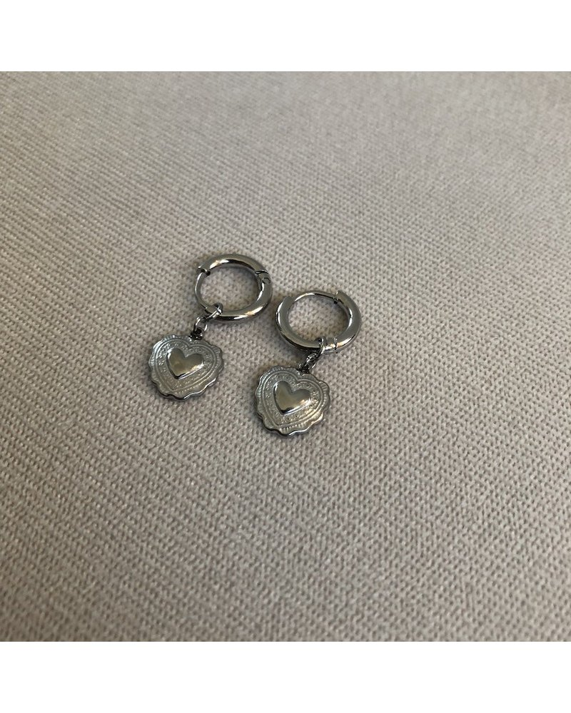 Earrings silver 1