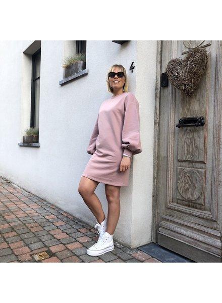 NA-KD sweaterdress pink