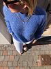 Soft summer knit blue