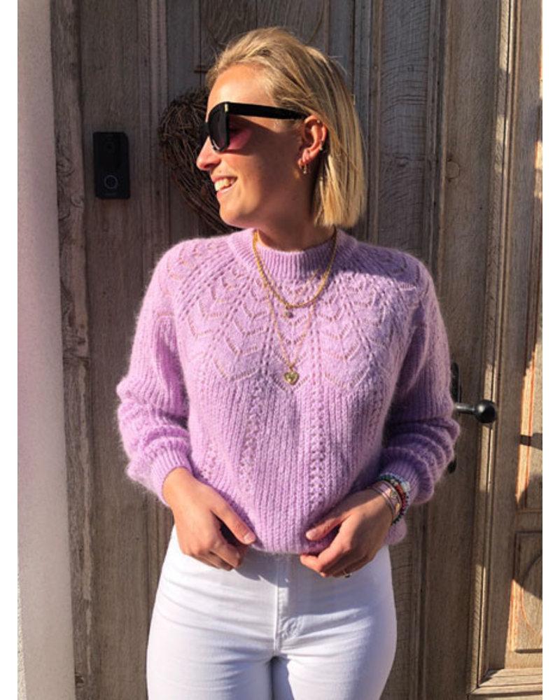 Soft summer knit lila