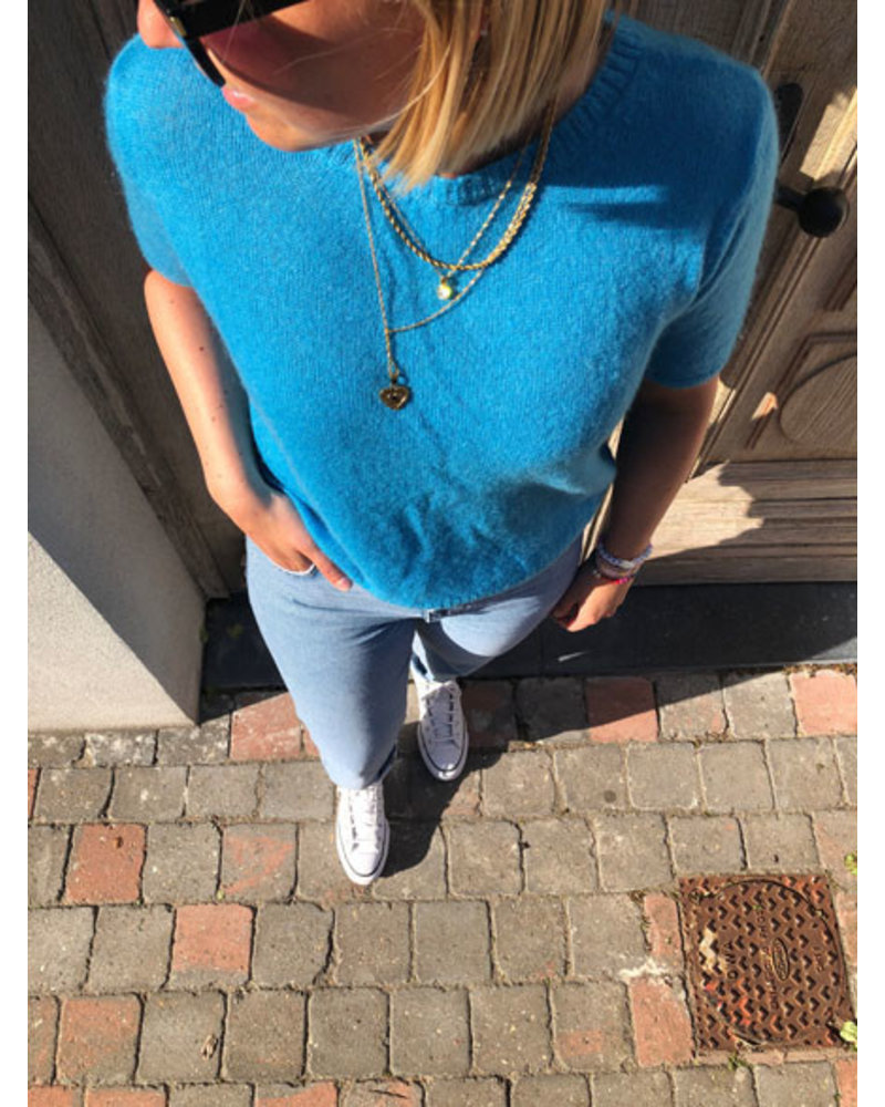 Soft summer Tee turquoise