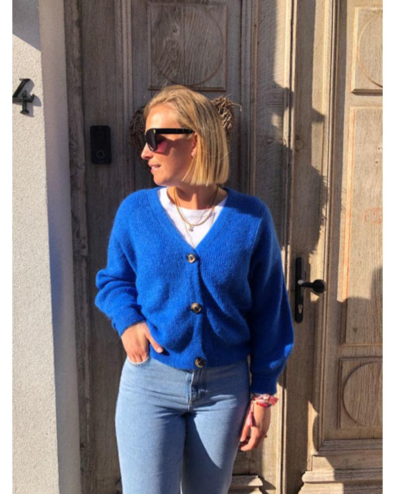 Soft jacket blue