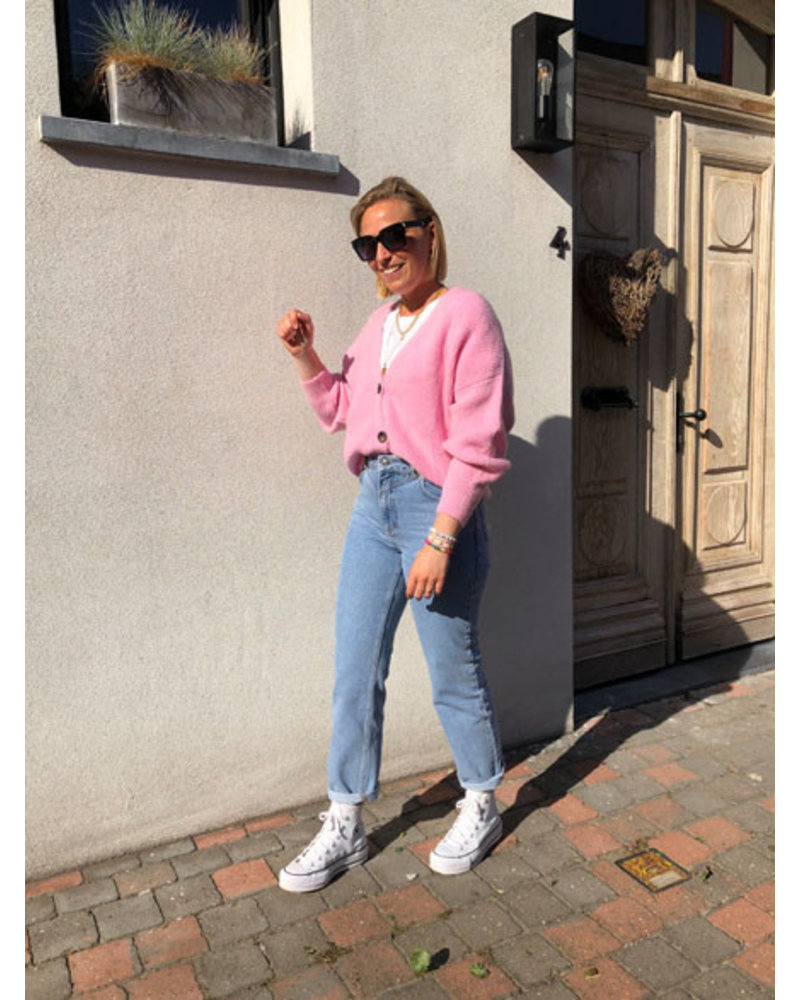 Soft jacket sweet pink