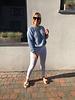 Soft summer knit jeans