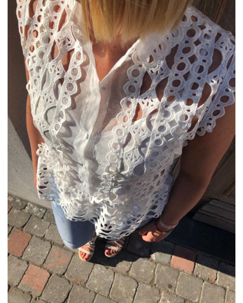 Crochet top wit
