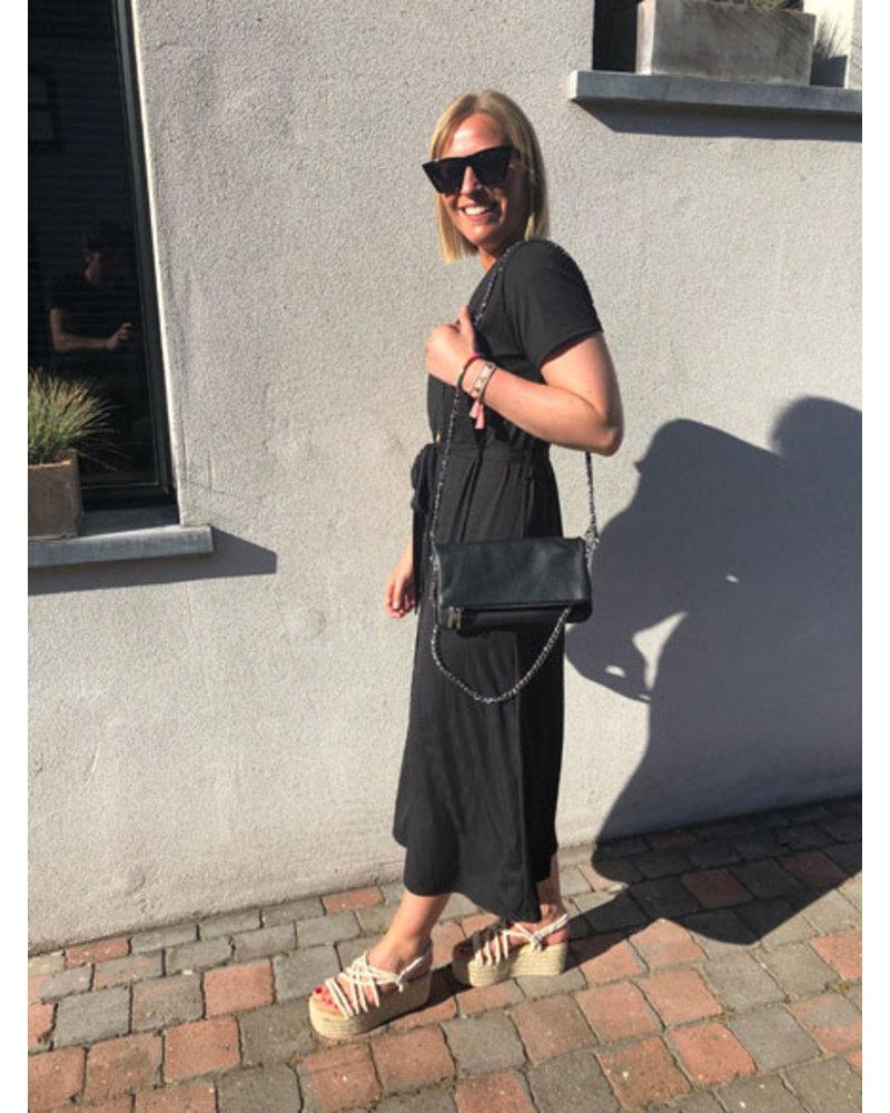 Chain bag black
