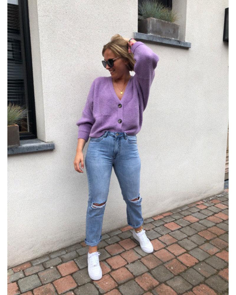 Soft jacket lavender