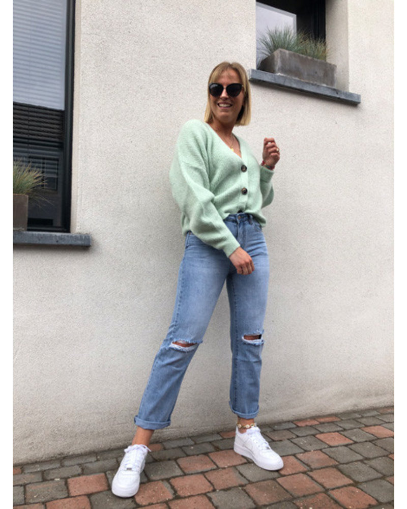 Soft jacket mint