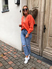 Soft jacket orange