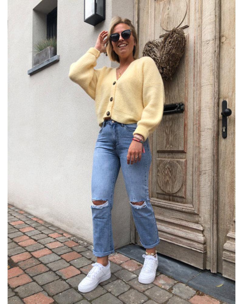 Soft jacket sweet yellow