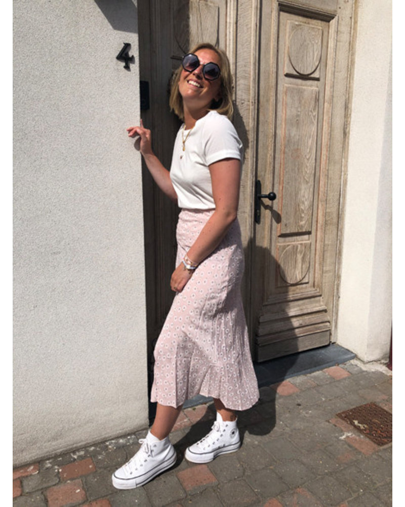 Daisy skirt pink