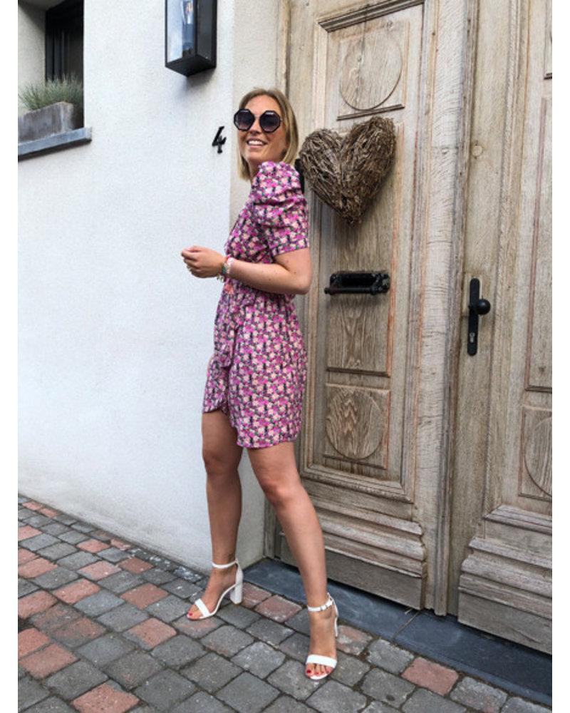 Dress violet