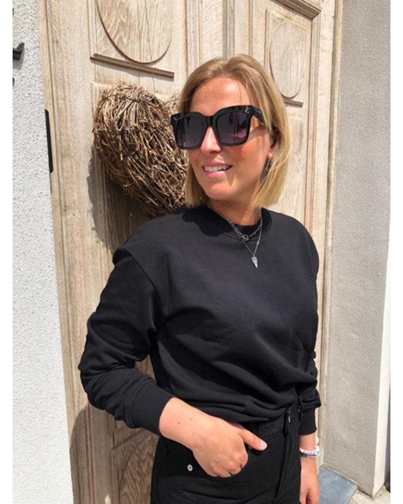 NA-KD basic sweater black