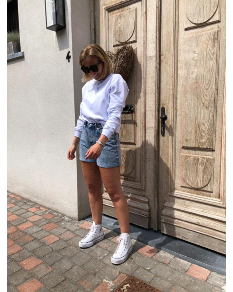 NA-KD basic sweater white