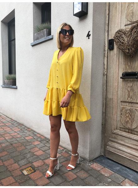 Romy dress yellow