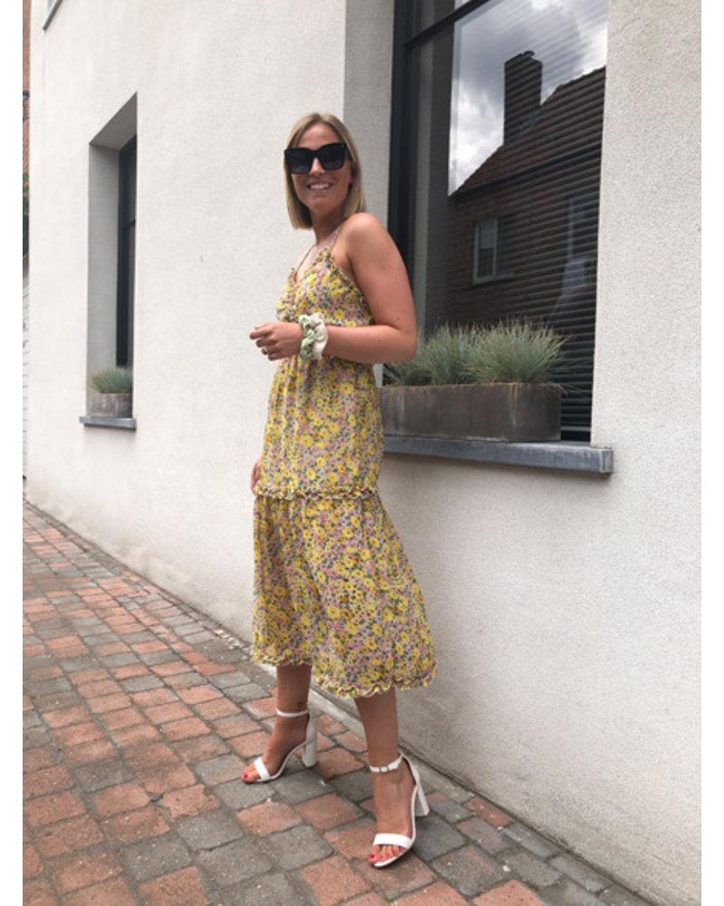 Lily dress yellow
