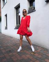 Romy dress red