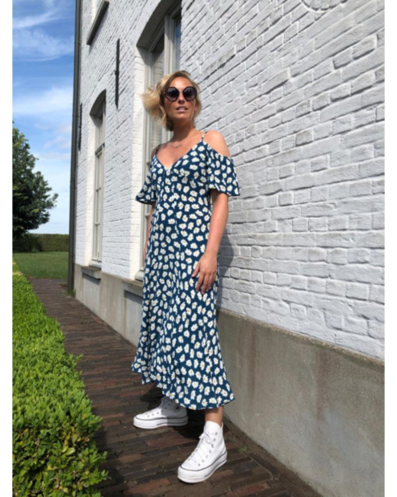 Long sunflower dress