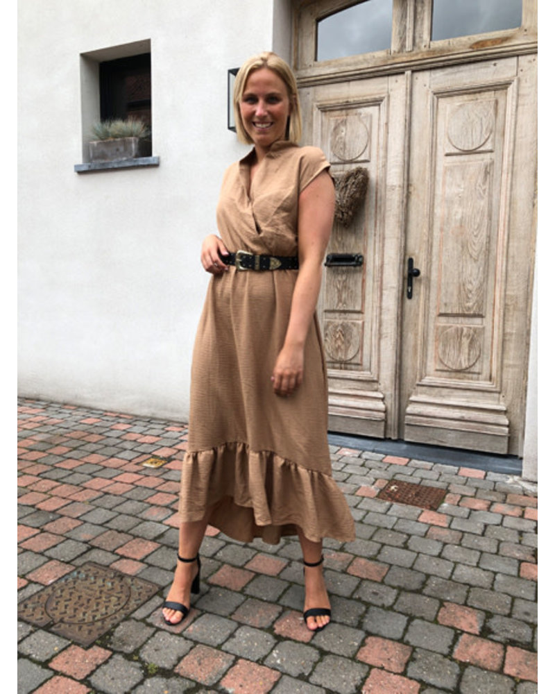 Lucy dress taupe