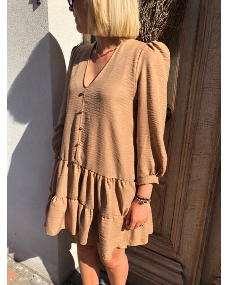 Romy dress taupe