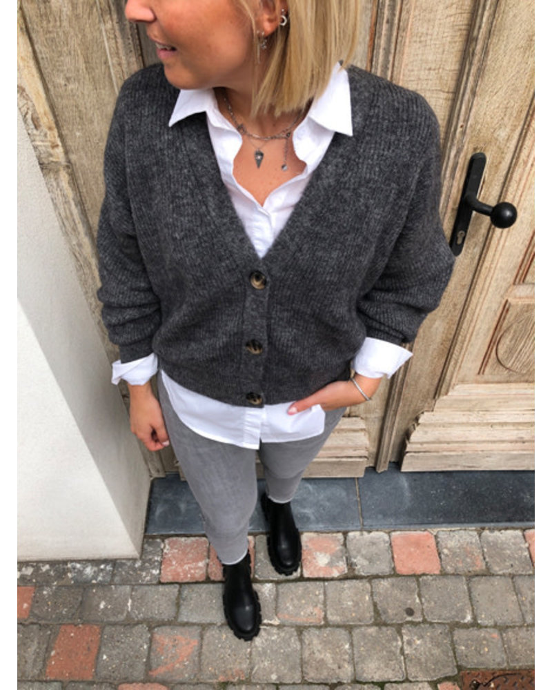 Soft jacket grey