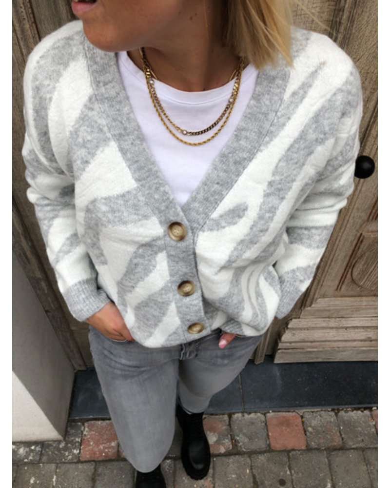 Super soft zebra jacket