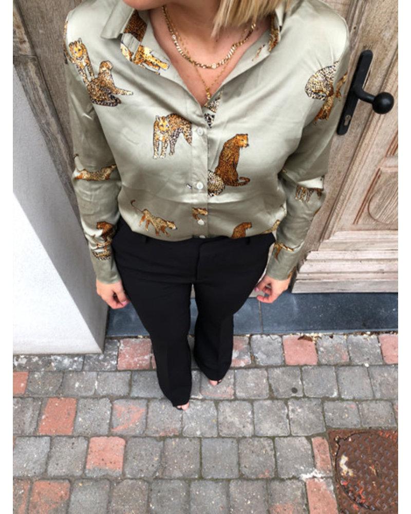 Dani blouse sage green