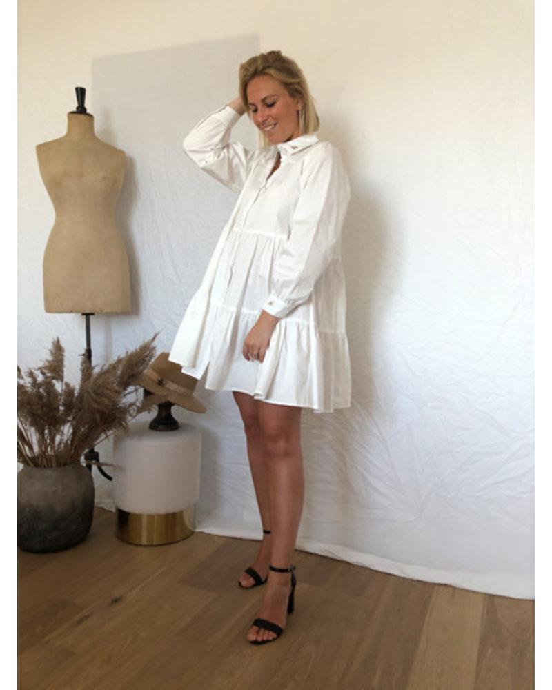 Honeybee dress white