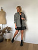 Leatherlook skirt black