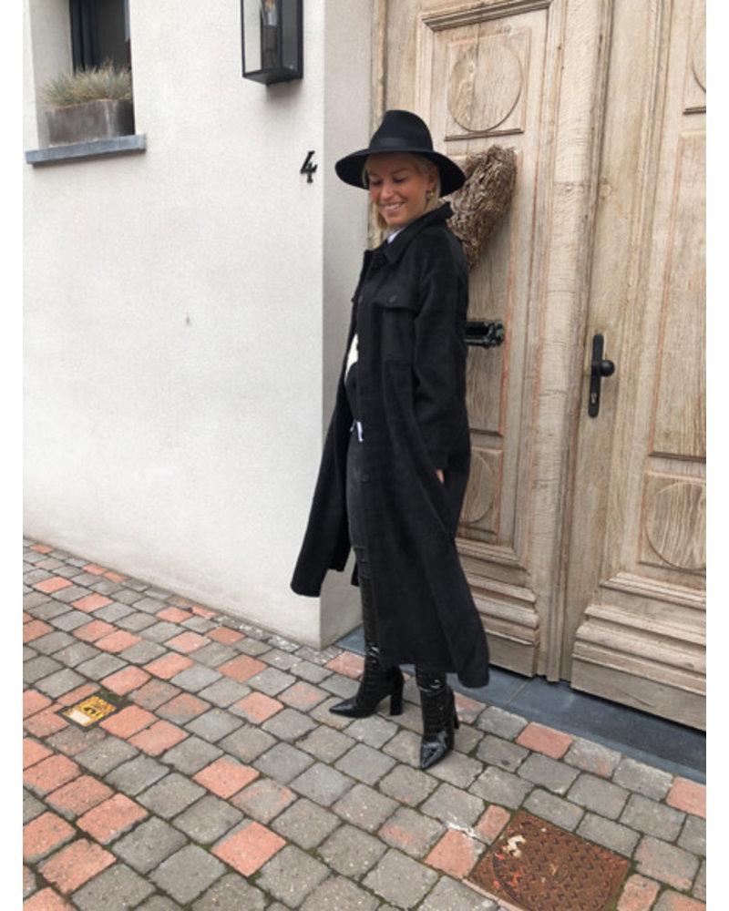 Grace coat black