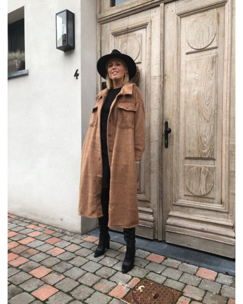Grace coat camel
