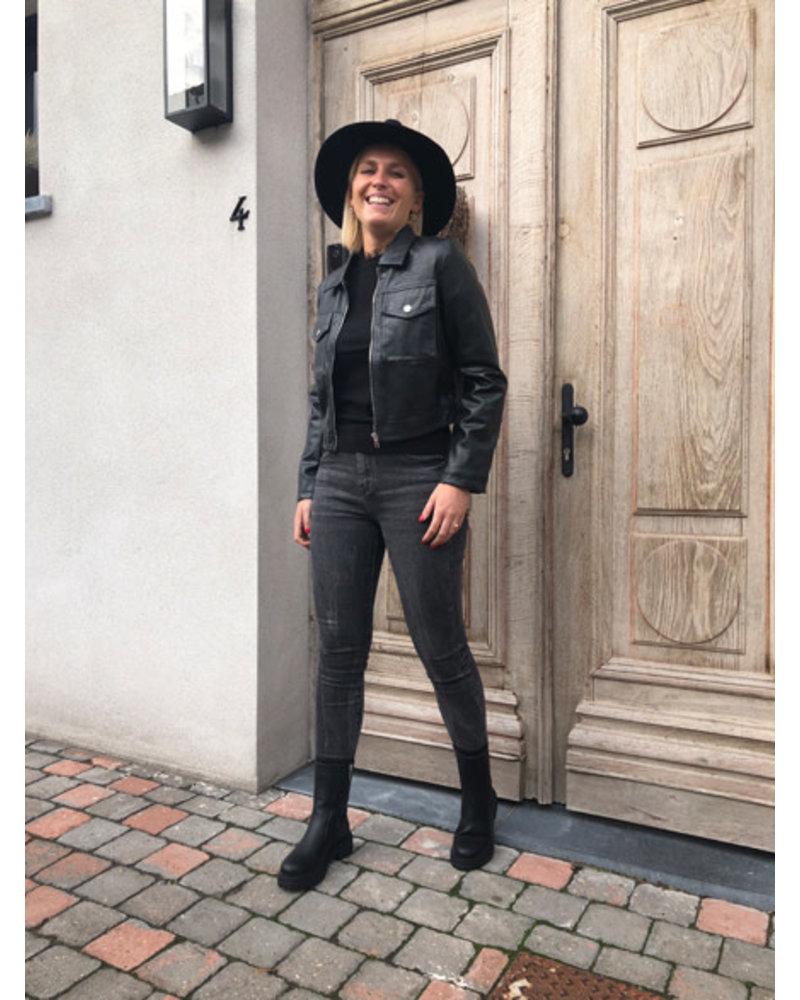 Grace leather jacket