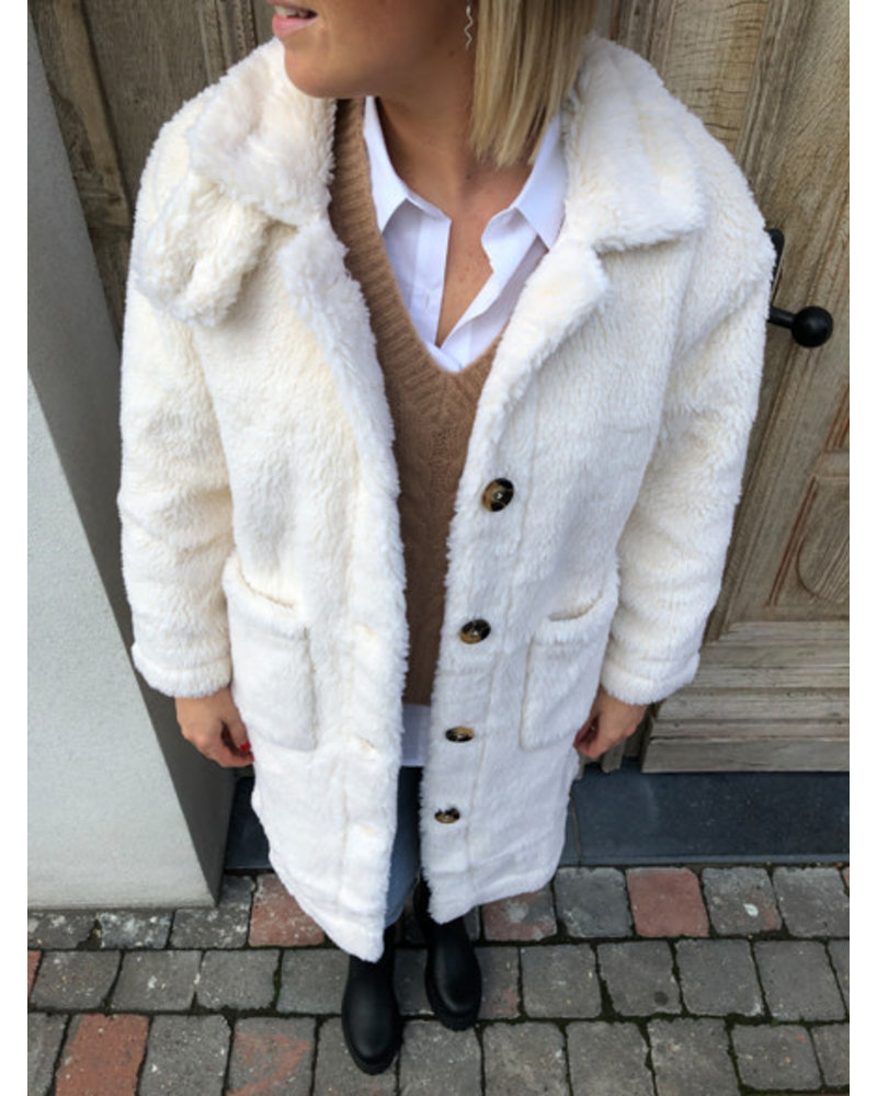 Teddy coat cream