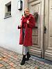 Teddy coat red
