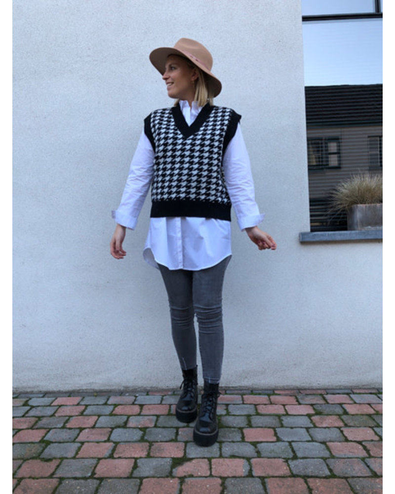 Eloise debardeur black/white