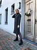 Alice knitted dress dark grey
