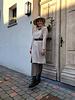 Alice knitted dress dark beige