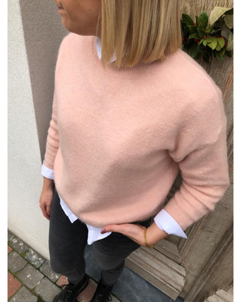 Supersoft knit soft pink